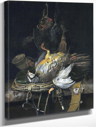 Still Life With Game By Willem Van Aelst By Willem Van Aelst
