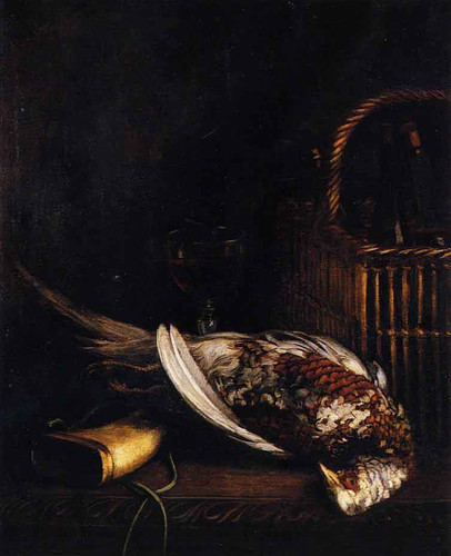Still Life With Pheasant By Claude Oscar Monet
