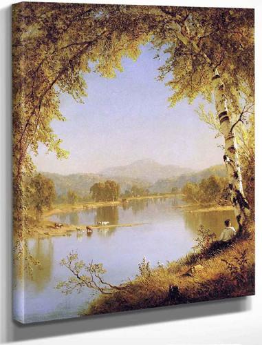 Summer Idyll By Sanford Robinson Gifford By Sanford Robinson Gifford