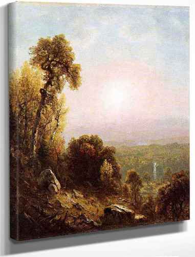 Sunset In The Adirondacks By Sanford Robinson Gifford By Sanford Robinson Gifford