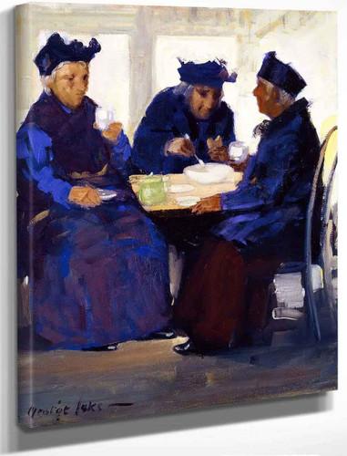 Tea Party By George Benjamin Luks