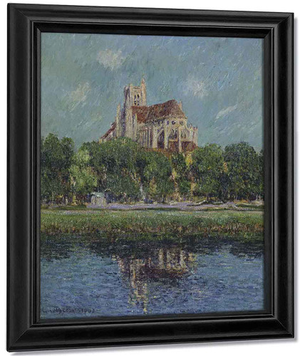 The Auxerre Cathedral 8 By Gustave Loiseau By Gustave Loiseau