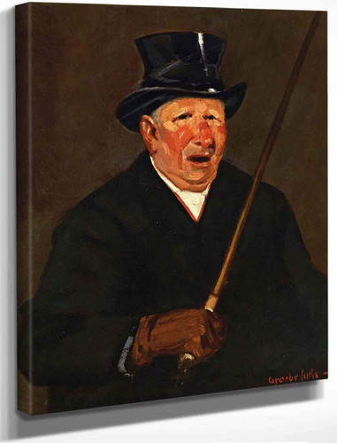 The Cabby By George Benjamin Luks