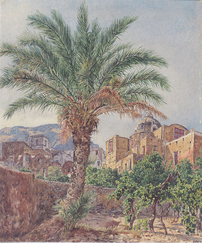 The Cathedral Of Capri By Rudolf Von Alt