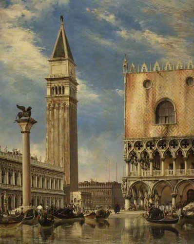 The Doge's Palace, Venice By Edward William Cooke, R.A.