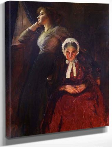 The Dreamers By Thomas Edwin Mostyn