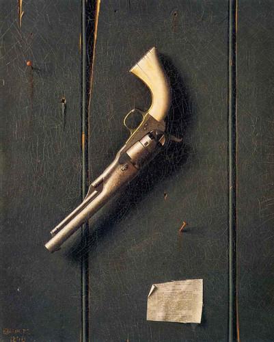 The Faithful Colt By William Michael Harnett By William Michael Harnett