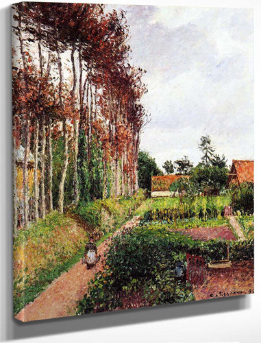 The Field By The Ango Inn, Varengeville By Camille Pissarro By Camille Pissarro