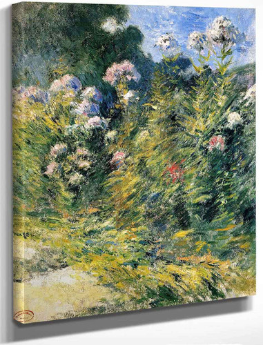The Flower Garden By John Twachtman