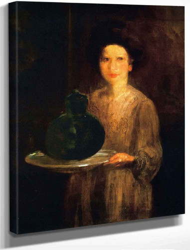 The Pawnbroker's Daughter By George Benjamin Luks