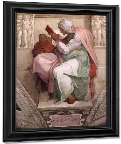 The Persian Sibyl By Michelangelo Buonarroti By Michelangelo Buonarroti