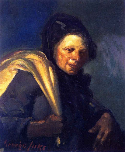 The Rag Picker By George Benjamin Luks