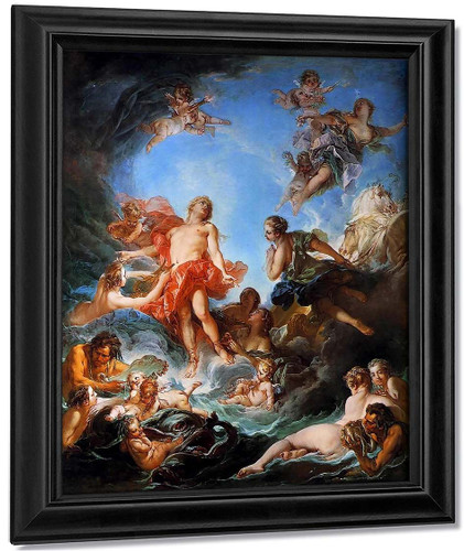 The Rising Of The Sun By Francois Boucher