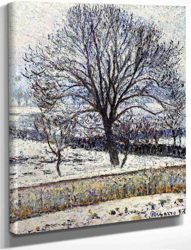 The Thaw, Eragny By Camille Pissarro By Camille Pissarro