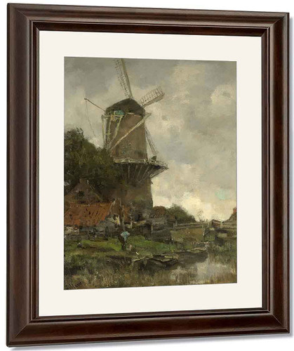 The Windmill1 By Jacob Henricus Maris
