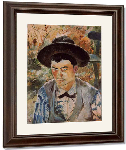 The Young Routy In Celeyran By Henri De Toulouse Lautrec