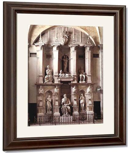 Tomb Of Julius Ii By Michelangelo Buonarroti By Michelangelo Buonarroti