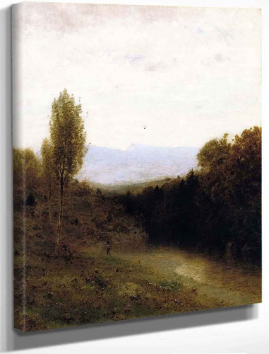 View Of Whiteface Mountain By Alexander Helwig Wyant