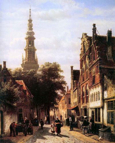 Walenkerk Haarlem By Cornelius Springer