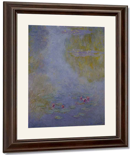 Water Lilies18 By Claude Oscar Monet