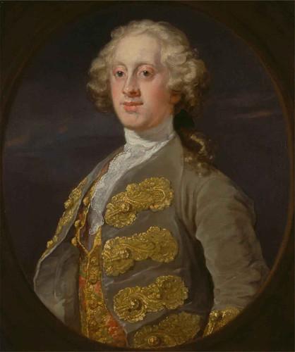 William Cavendish, 4Th Duke Of Devonshire By William Hogarth