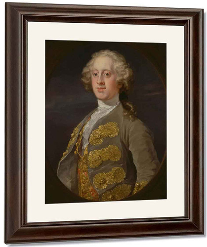 William Cavendish, 4Th Duke Of Devonshire By William Hogarth