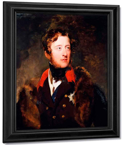 William Cavendish, 6Th Duke Of Devonshire By Sir Thomas Lawrence