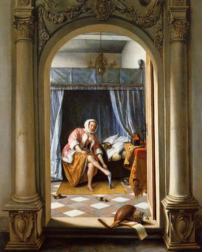 Woman At Her Toilet By Jan Steen