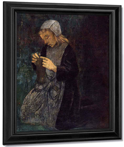 Young Breton By Paul Serusier