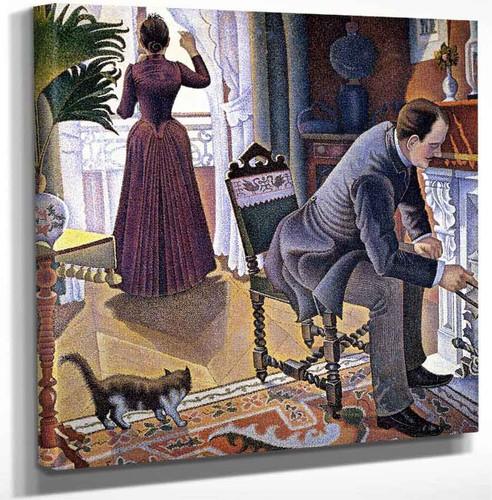 Sunday By Paul Signac Art Reproduction