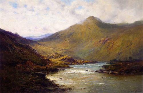A Bend Of The Dee By Alfred De Breanski, Sr.