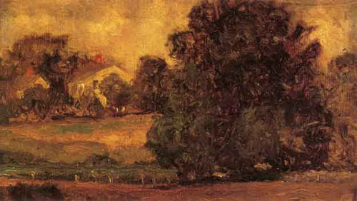 A Connecticut Landscape By Ernest Lawson