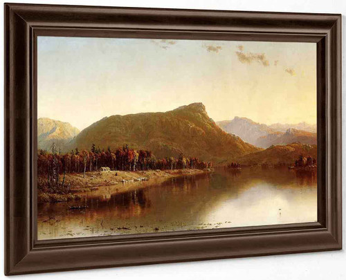 A Home In The Wilderness By Sanford Robinson Gifford