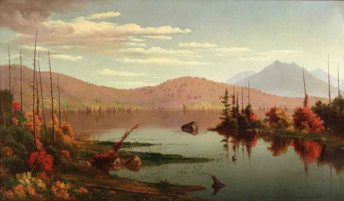 A Lake In The Mountains By Levi Wells Prentice By Levi Wells Prentice