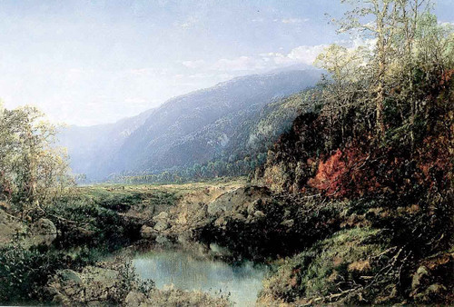 A Lake In The Mountains By William Louis Sonntag