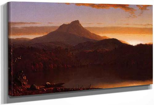 A Lake Twilight 2 By Sanford Robinson Gifford