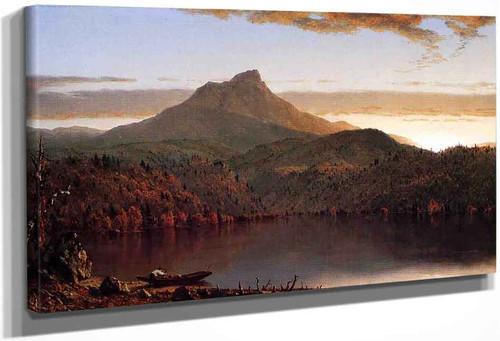A Lake Twilight By Sanford Robinson Gifford