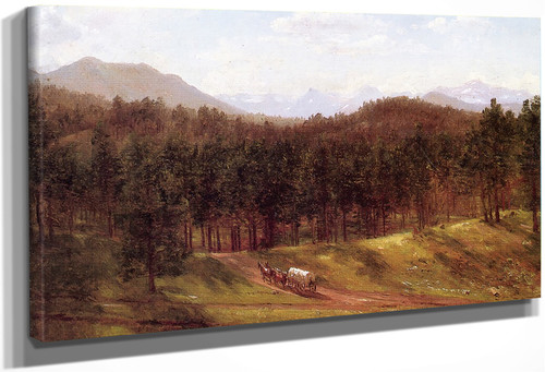 A Mountain Trail, Colorado By Thomas Worthington Whittredge