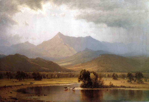 A Passing Storm In The Adirondacks By Sanford Robinson Gifford