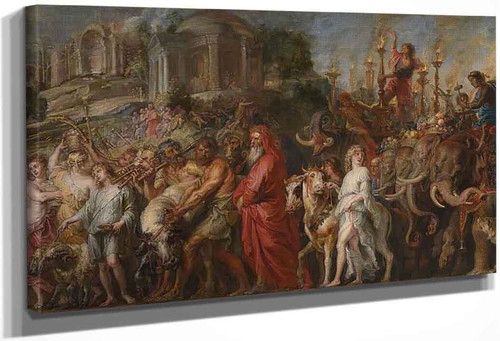 A Roman Triumph By Peter Paul Rubens