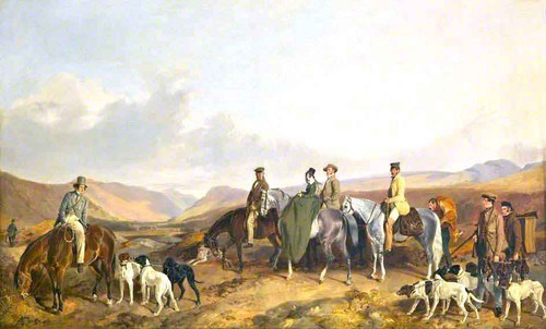 A Shooting Party At Meggernie By Richard Ansdell