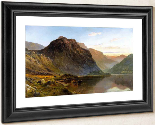 A Shoulder Of Ben Nevis By Alfred De Breanski, Sr.