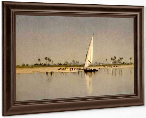 A Sketch On The Nile By Sanford Robinson Gifford