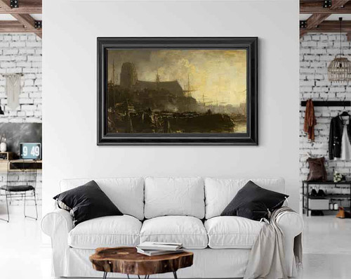 A Souvenir Of Dordrecht By Jacob Henricus Maris