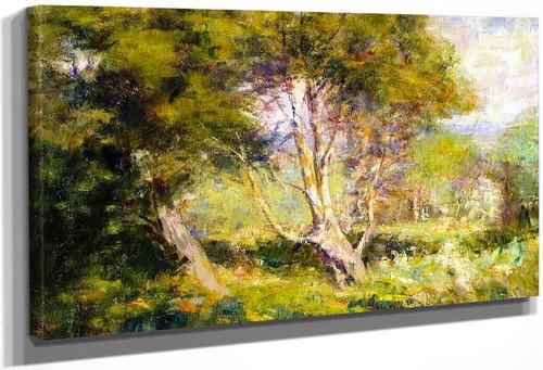A Spring Pastoral By Frederick Mccubbin