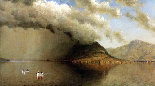 A Sudden Storm, Lake George By Sanford Robinson Gifford