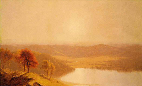 A View From The Berkshire Hills, Near Pittsfield, Massachusetts By Sanford Robinson Gifford