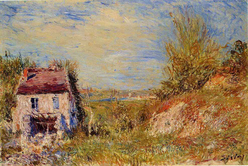 Abandoned House 3 By Alfred Sisley
