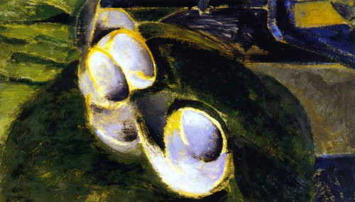Abstract Still Life With Cups By Alfred Henry Maurer By Alfred Henry Maurer