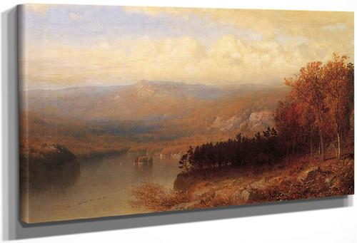 Adirondack Scene In Autumn By Alexander Helwig Wyant